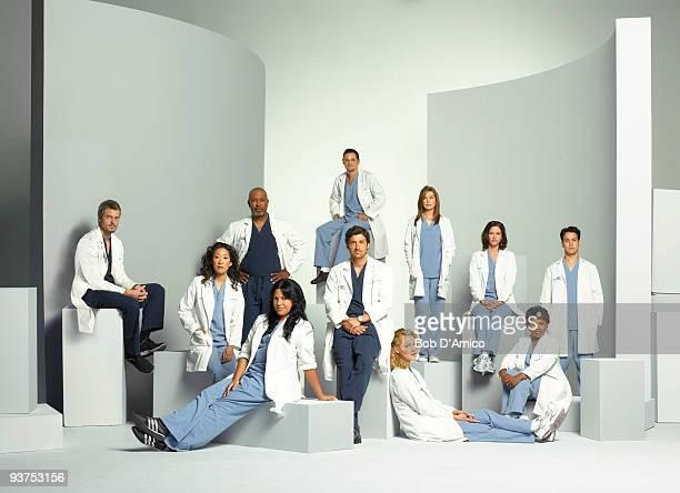 S ANATOMY 'Grey's Anatomy' stars Ellen Pompeo as Meredith Grey Patrick Dempsey as Derek Shepherd Sandra Oh as Cristina Yang Katherine Heigl as Isobel...