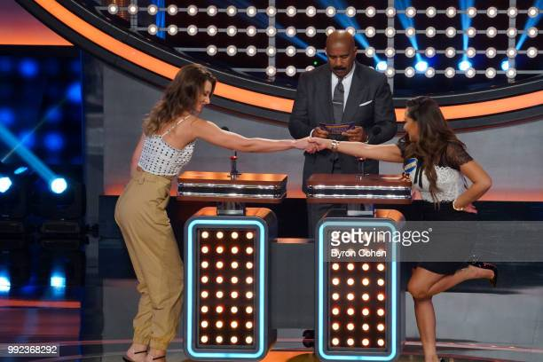 FEUD 'Grey's Anatomy vs Station 19 and Aly AJ vs Adrienne Houghton' The celebrity teams competing to win cash for their charities feature an allstar...