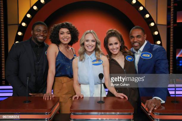 FEUD Grey's Anatomy vs Station 19 and Aly AJ vs Adrienne Houghton The celebrity teams competing to win cash for their charities feature an allstar...