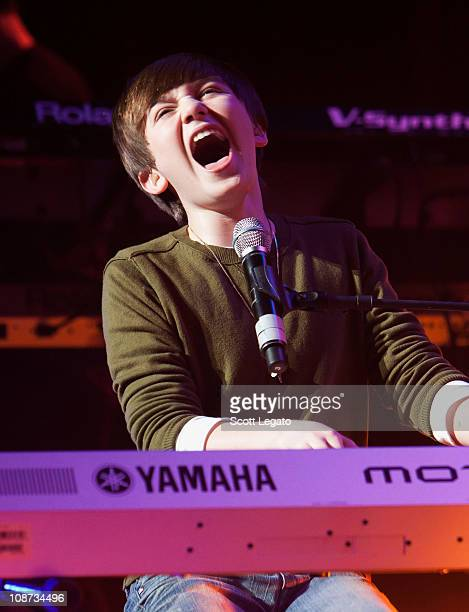 Greyson Chance performs at The Filmore on February 1 2011 in Detroit Michigan