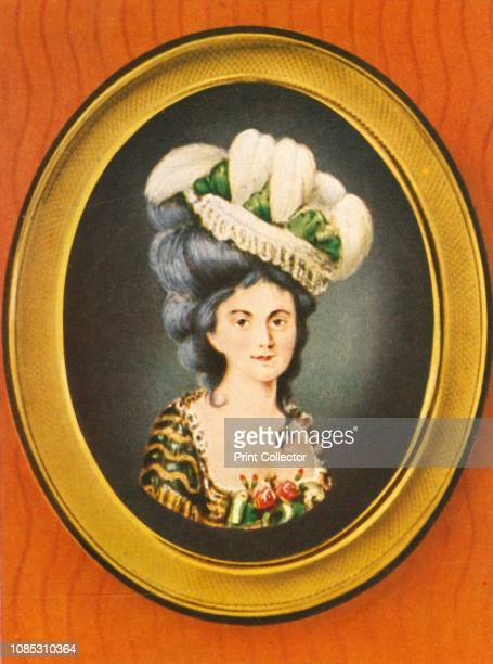 Gräfin Dubarry' Portrait of Jeanne Bécu comtesse Du Barry the last Maîtresseentitre of Louis XV of France and one of the victims of the Reign of...