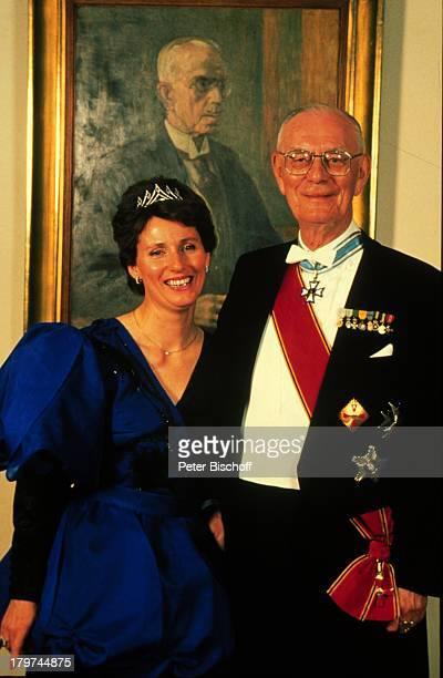 Gräfin Sonja und Graf Lennart Bernadottean seinem 80 Geburtstag