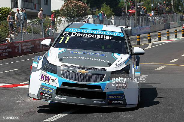 Gr��goire Demoustier in Chevrolet RML Cruze TC1 of Craft Bamboo Racing during the FIA WTCC 2015 Qualifying at Vila Real in Portugal on July 11 2015
