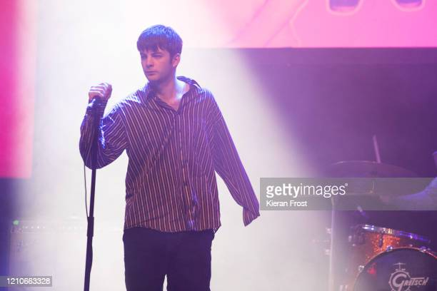 Grian Chatten of Fontaines DC performs at the RTE Choice Music Prize at Vicar Street on March 05 2020 in Dublin Dublin