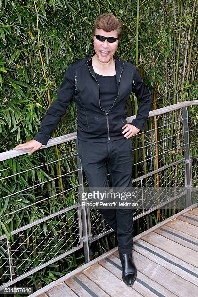 Grichka Bogdanoff attends Day Seven of the 2016 French Tennis Open at Roland Garros on May 28 2016 in Paris France
