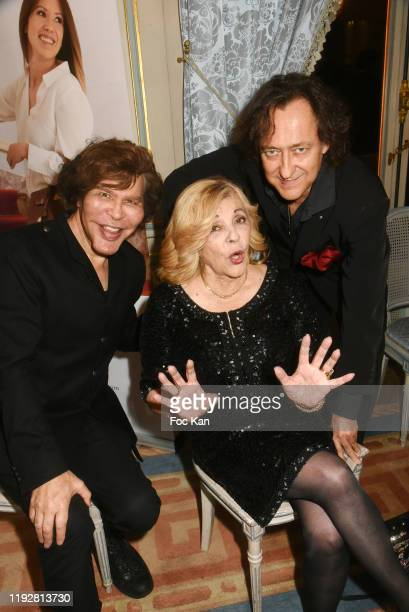 Grichka Bogdanoff Nicoletta and Jean Christophe Molinier attend the 43rd Best Awards Edition At Cercle Interallie on December 08 2019 in Paris France