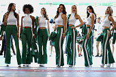 sao paulo brazil grid girls pose