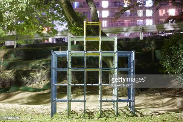 grid. - ジャングルジム ストックフォトと画像