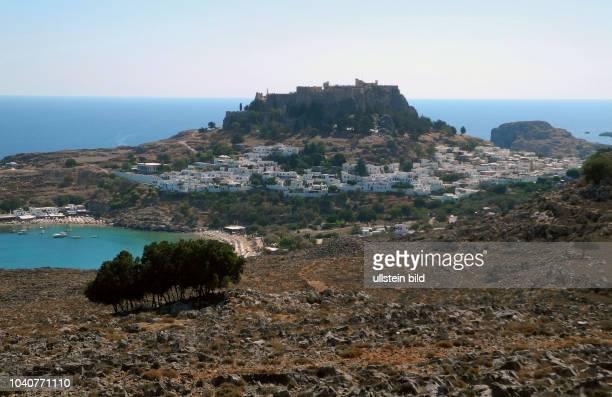 Griechenland ist auch zur Ferienzeit ein gefragtes Reiseziel um den Spaetsommer noch zu geniessen. Lindos, die weisse Stadt mit ihrem hoch...