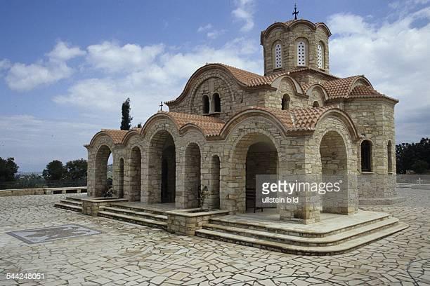 Griechenland Zypern Politiko Neue Kirche am Kloster Agios Irakleidios