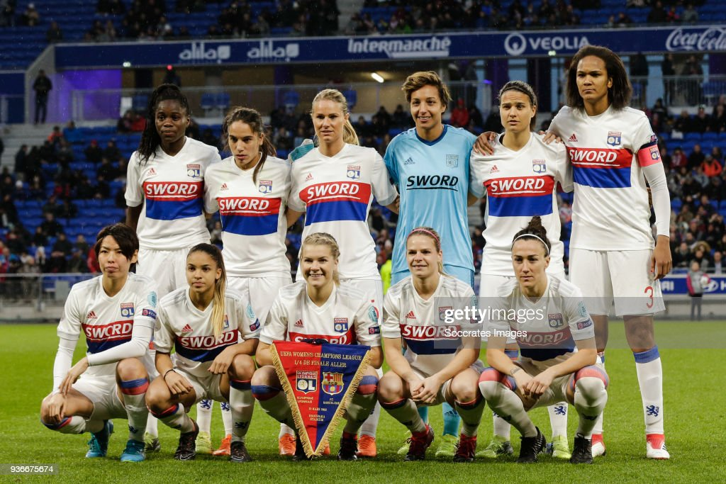 Olympique Lyon Women v FC Barcelona Women : Photo d'actualité