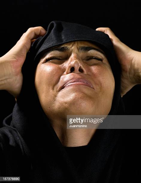 grief - iranian culture stock photos and pictures