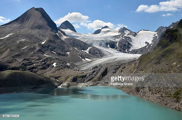 Griesgletscher and Griessee in the Swiss Alps