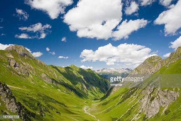griesltal - european alps, tirol in austria