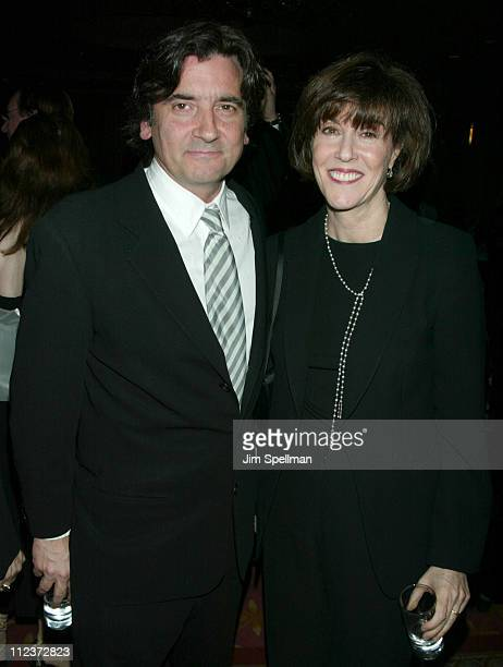 Griffin Dunne and honoree Nora Ephron during 55th Annual Writers Guild of America East Awards - Arrivals at The Pierre Hotel in New York City, New...