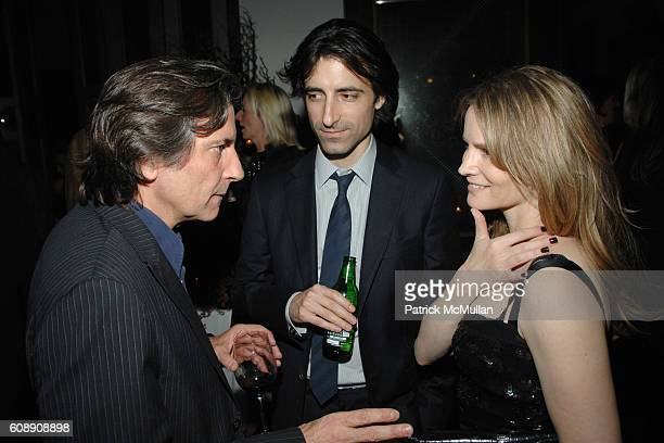 Griffin Dunne Noah Baumbach and Jennifer Jason Leigh attend THE CINEMA SOCIETY and LINDA WELLS host the after party for MARGOT AT THE WEDDING at Soho...