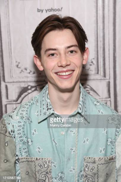 "Griffin Gluck attends Build Series to discuss his role in the film ""Big Time Adolescence"" at Build Studio on March 05, 2020 in New York City."