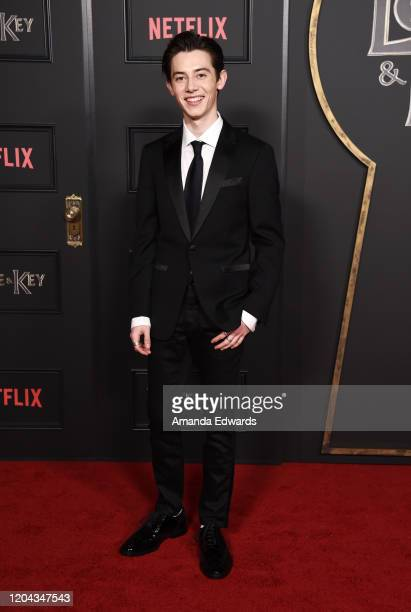 "Griffin Gluck attends Netflix's ""Locke & Key"" Series Premiere Photo Call at the Egyptian Theatre on February 05, 2020 in Hollywood, California."