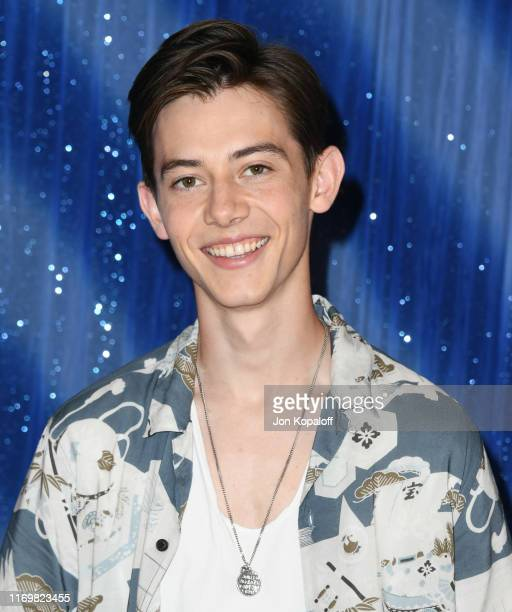 "Griffin Gluck attends the Photo Call For Netflix's ""Tall Girl"" at the Beverly Wilshire Four Seasons Hotel on August 23, 2019 in Beverly Hills,..."