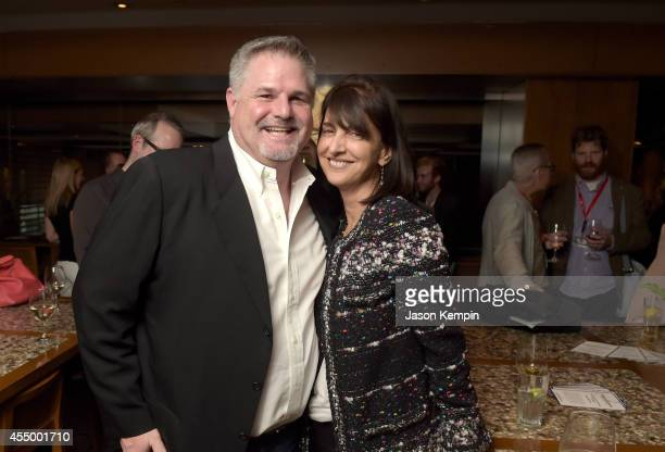Griffin Gmelich and producer Ruth Vitale attend the Creative Film Fandor party during the 2014 Toronto International Film Festival on September 8,...