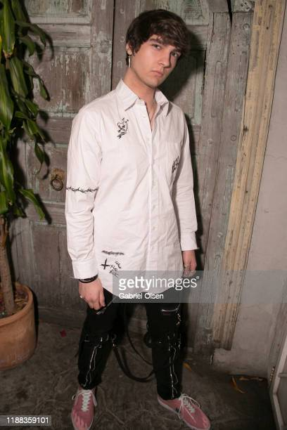 Griffin Jarosinski attends the MetaLife Launch Influencer Dinner at Bacari W 3rd on November 17 2019 in Los Angeles California