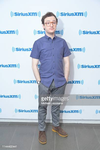 Griffin Newman visits SiriusXM Studios on April 22 2019 in New York City