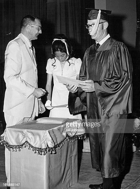 JUN 3 1971 JUN 8 1971 JUN 9 1971 Griffith Emily Opportunity School Graduation Ceremonies Of Emily Opportunity School Stephen Knight Jr left president...