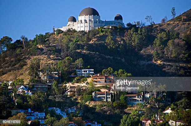 Griffith Park Observatory and hills