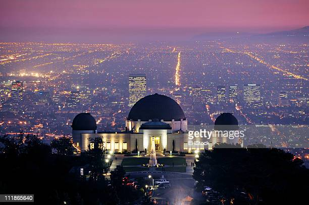Griffith Park Observatory Los Angeles California Tourist Attraction