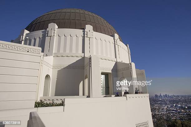 Griffith Park Observatory Los Angeles California USA