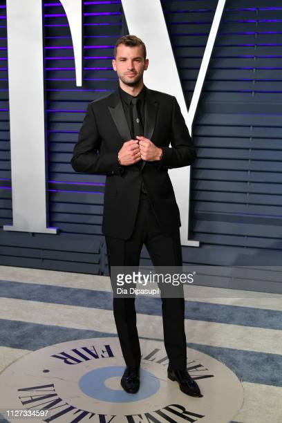 Grigor Dimitrov attends the 2019 Vanity Fair Oscar Party hosted by Radhika Jones at Wallis Annenberg Center for the Performing Arts on February 24,...