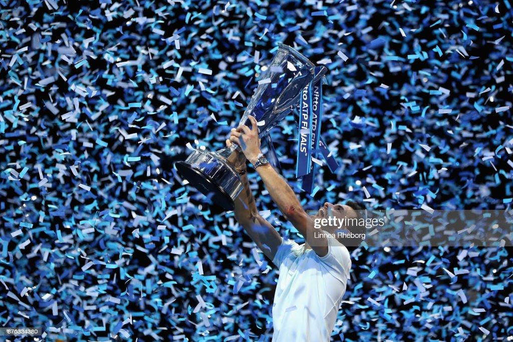 Day Eight - Nitto ATP World Tour Finals : Nachrichtenfoto
