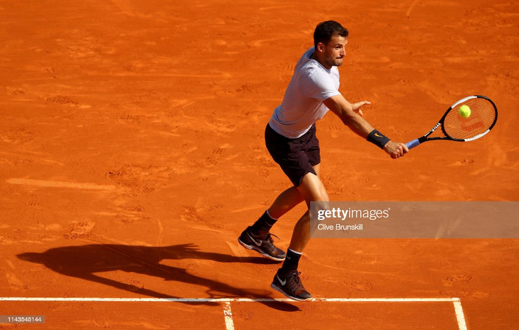 Rolex Monte-Carlo Masters - Day Five : News Photo