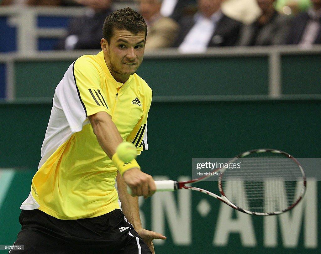 ABN AMRO World Tennis Tournament - Day Four : News Photo