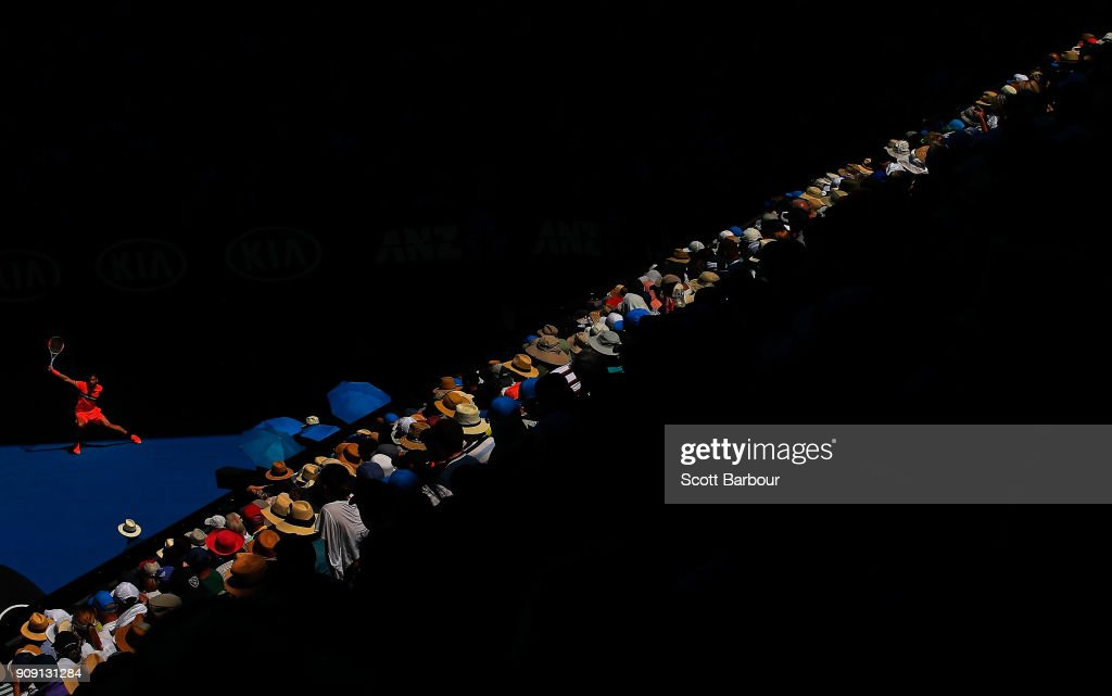 2018 Australian Open - Day 9 : News Photo