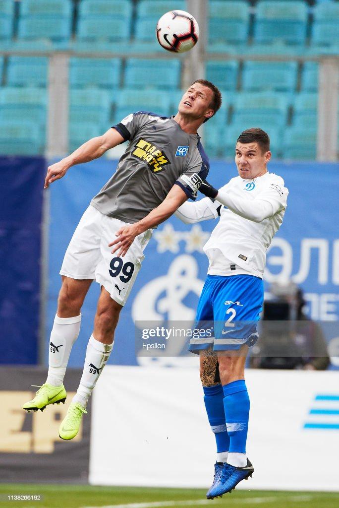 RUS: FC Dinamo Moscow vs FC Krylia Sovetov Samara - Russian Premier League