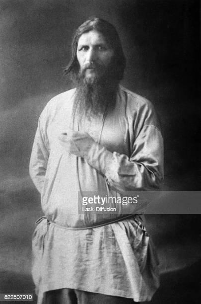 Grigori Rasputin Russian mystic and friend of the family of Tsar Nicholas II of Russia