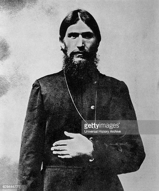Grigori Rasputin Russian Mystic Portrait 1905