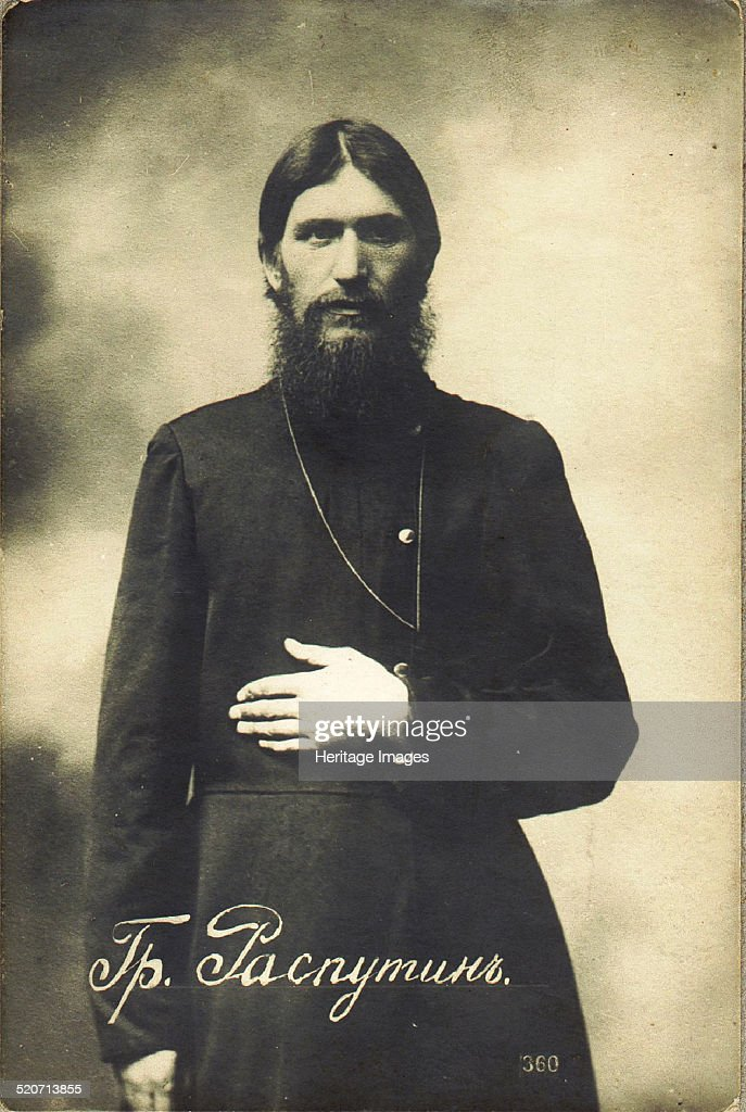 Grigori Yefimovich Rasputin (1869-1916) Artist: Bulla, Karl Karlovich (1853-1929) : News Photo