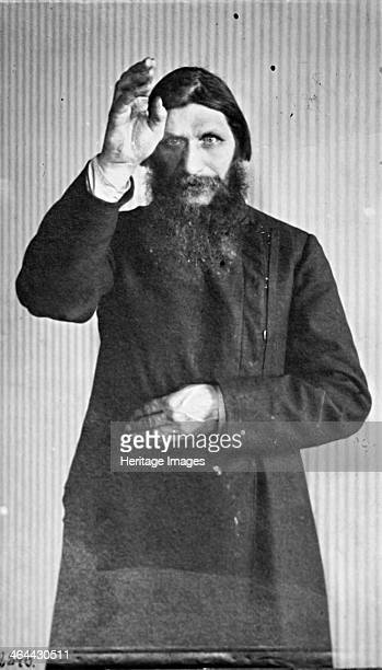 Grigori Yefimovich Rasputin Russian mystic and 'holy man' c1914c1916 Rasputin exercised considerable influence over Tsar Nicholas II and particularly...