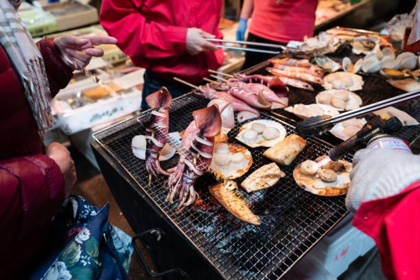 BBQ grill seafood