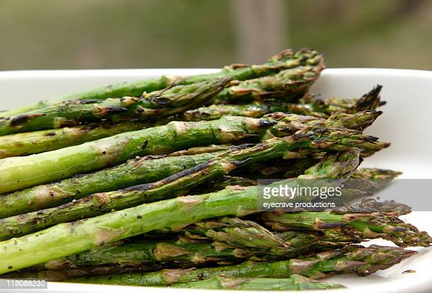 grilled asparagus dish