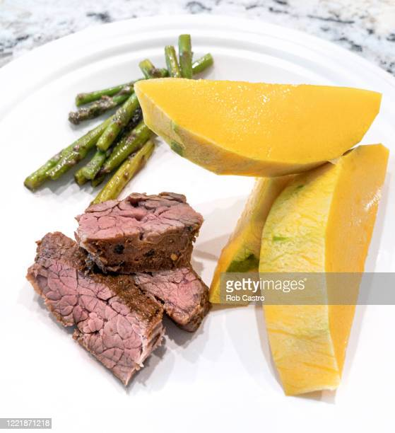 grilled beef plate - rob castro stock pictures, royalty-free photos & images