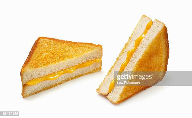 Grilled Cheese on white