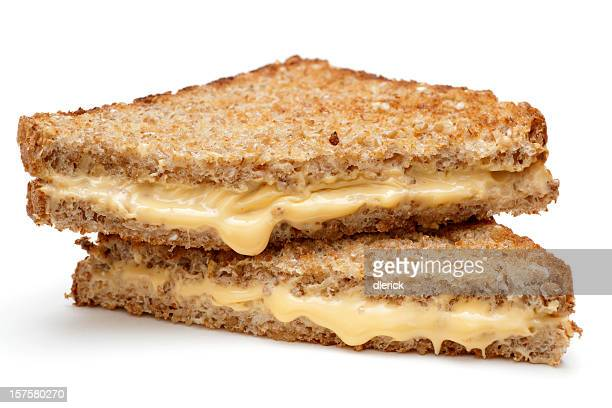 grilled cheese sandwich on whole wheat bread