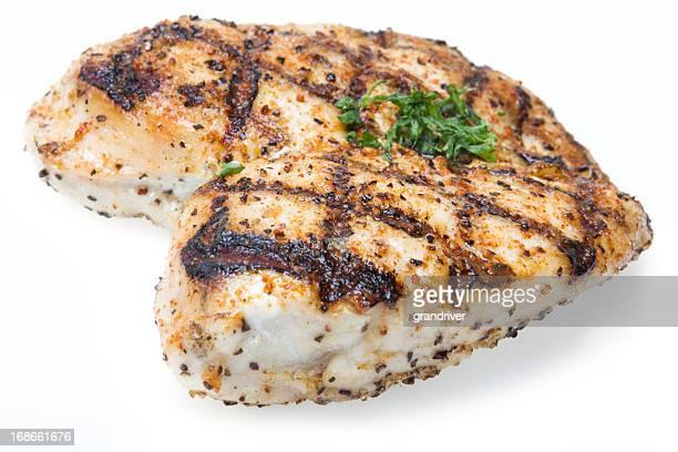 Blanc de poulet grillé