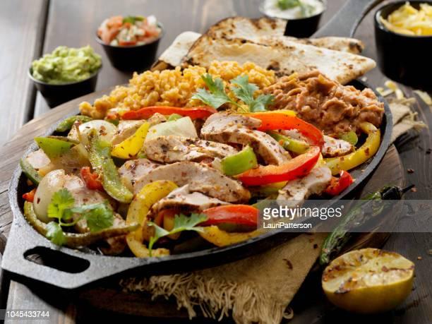 Grilled Chicken Fajita Platter