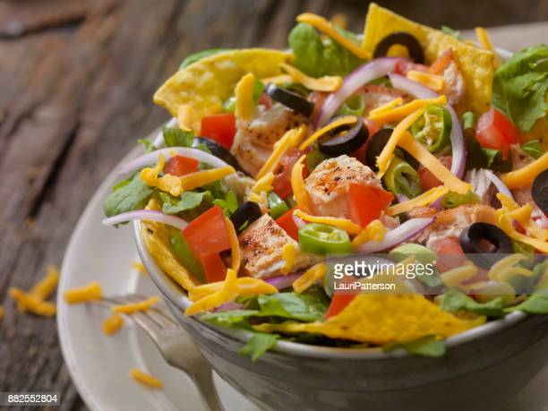 Grilled Chicken Taco Salad