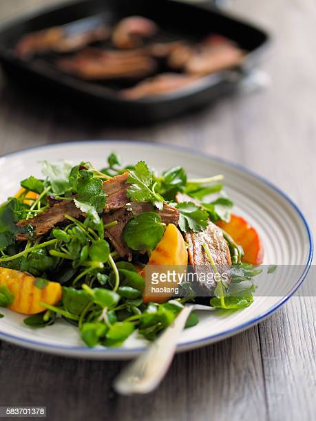 grilled duck salad