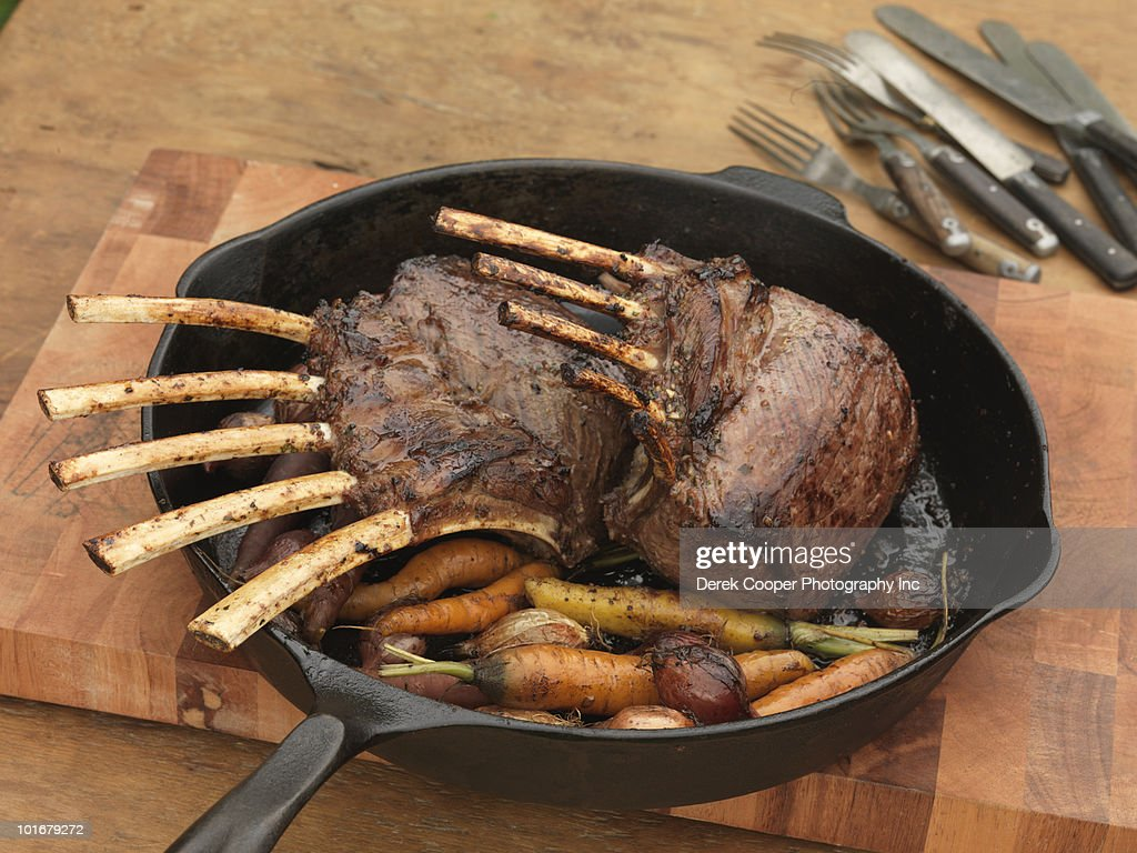 Grilled elk : Stock Photo